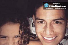 Salomé, la hija de James Rodríguez y Daniela Ospina, así canta el himno de Colombia