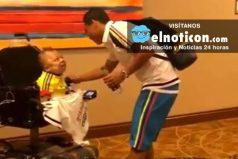 El increíble gesto de los jugadores de la Selección Colombia con un hincha en discapacidad ¡Qué gran corazón!