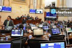 En gresca, la plenaria del Senado aprobó la conciliación para implementar los acuerdos de paz