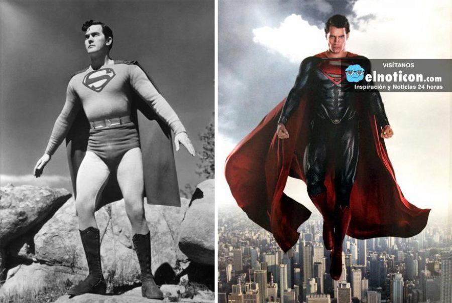 Mira la evolución de algunos héroes y villanos con el paso del tiempo