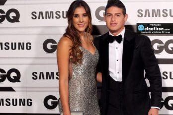 La foto que demuestra que la esposa de James es una hincha fiel ¡Que bello es el fútbol!
