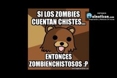 Si los zombies cuentan chistes…