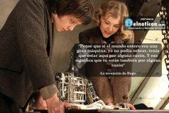 """""""Pensé que si el mundo entero era una gran máquina, yo no podía sobrar…"""
