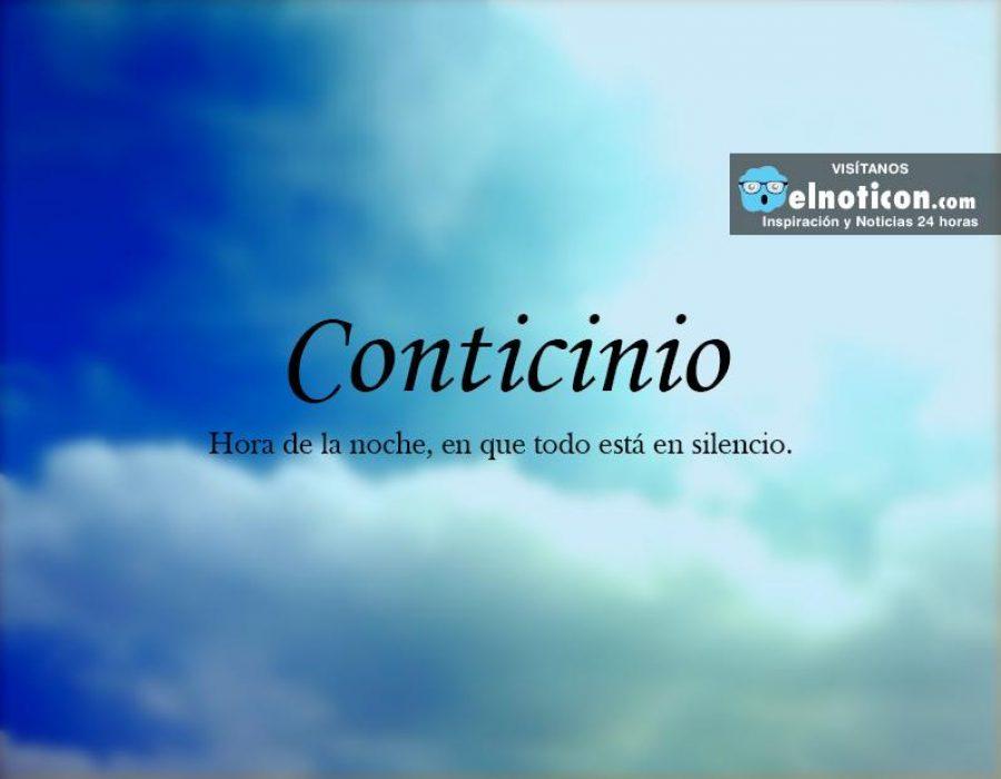 Definición de Conticinio