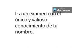 Ir a un examen…
