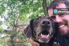 Hombre lleva a su perra con cáncer a través de un último y épico viaje por carretera