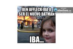 Ben Affleck iba a ser el nuevo Batman