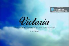 Definición de Victoria