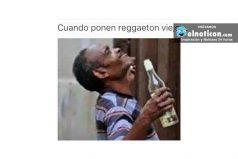 Cuando ponen reggaetón viejo