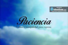 Definición de Paciencia