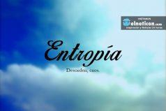 Definición de Entropía