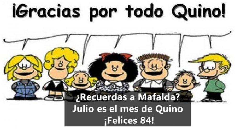 ¿La recuerdas? mira aquí la historia de Mafalda contada por 'Quino' su papá