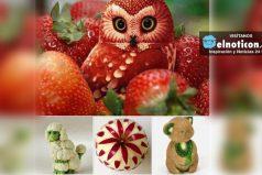 Divertido arte con frutas