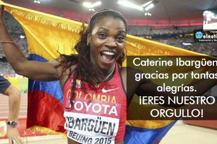 Caterine Ibargüen, ¡NUESTRA GRAN ATLETA!