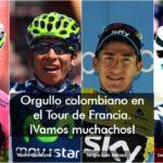 Estos son los colombianos que participan en el Tour de Francia 2016