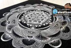 Este artista crea impresionantes obras utilizando sal ¡El resultado es increíble!