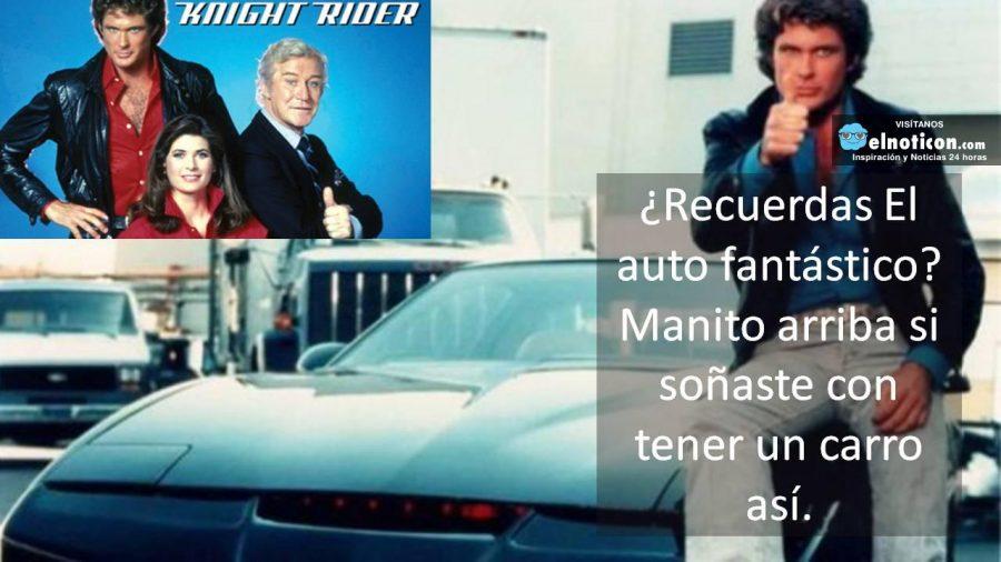 ¿Soñaste con tener un auto fantástico? ¡Amaba esta serie