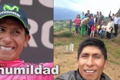 Nairo es un ejemplo de la humildad de los colombianos ¡Te llevamos en el corazón!
