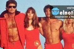 ¿Viste Guardianes de la Bahía? Revelan foto de todo el elenco de la película ¡Que guapos!
