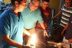 Con pequeña central hidroeléctrica proponen llevar luz a caseríos