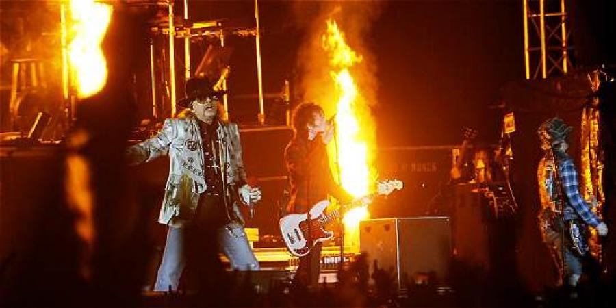 Confirmado: Guns N' Roses volverá a Colombia este año
