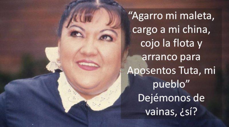 Josefa Dejémonos de vainas