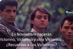 ¿Viste Los Victorinos? Su nombre era Cuando quiero llorar no lloro