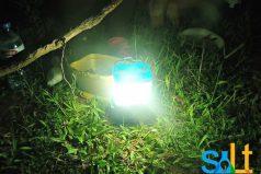 Una lámpara que funciona 8 horas con un solo vaso de agua salada / EcoInventos