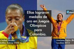 Ellas son nuestras melladistas olímpicas de oro ¡ORGULLO COLOMBIANO!
