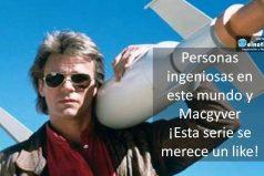 """¿Recuerdas el final de """"MacGyver""""? Revive este genial momento"""