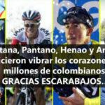 La grande actuación de Colombia en el Tour de Francia