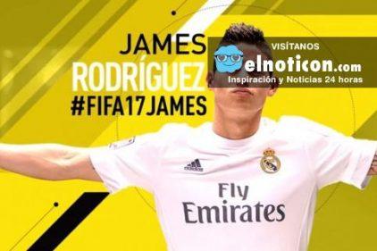 James Rodríguez necesita tu apoyo ¡Te contamos como votar por él para ser portada de FIFA 17