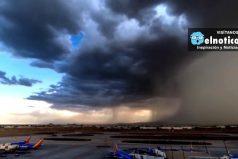 El extraño vídeo de un fenómeno meteorológico que filmó un fotógrafo