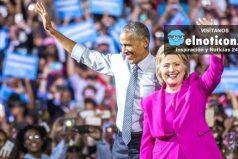 Hillary Clinton es oficial la primera candadita mujer que aspira a la Casa Blanca