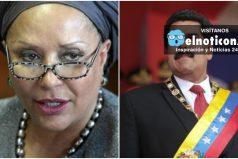 Piedad Córdoba defiende la soberanía de Venezuela