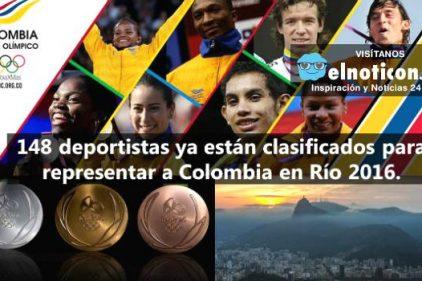 La delegación colombiana ya suma 148 deportistas, cifra récord en el país