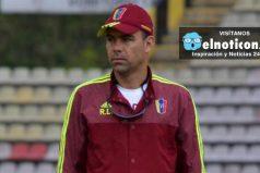 Rafael Dudamel, técnico de la 'Vinotinto' le pide a Maduro un avión privado para sus jugadores