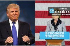 En la última encuesta presidencial Donald Trump supera a Hillary Clinton