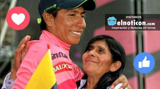 El mensaje que le envió la mamá de Nairo Quintana a su hijo en el Tour de Francia 2016
