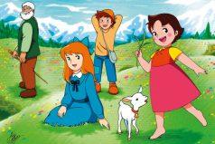 ¿Recuerdas a Heidi de la pradera? 8 secretos que no sabías