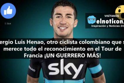 El colombiano Sergio Luis Henao, el gran aliado de Froome en la Etapa 8 del Tour