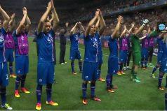 Así fueron recibidos los jugadores de Islandia tras la eliminación de la Eurocopa