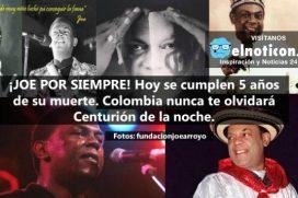 Recordando al maestro Joe Arroyo, el cantante más grande de la música caribeña de Colombia