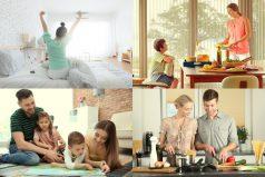 Momentos que iluminan la vida al llegar a tu hogar. ¡Conecta las cortinas a tu entorno y vive la exclusividad!