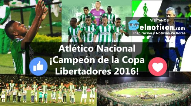 Nacional Campeón de la Copa Libertadores 2016