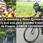 Nairo Quintana en la etapa 8 del Tour de Francia