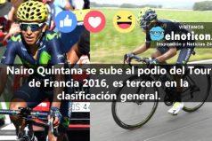 Nairo Quintana ¡Colombia te da las gracias!