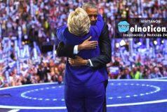 Barack Obama y su apoyo incondicional a Hillary Clinton