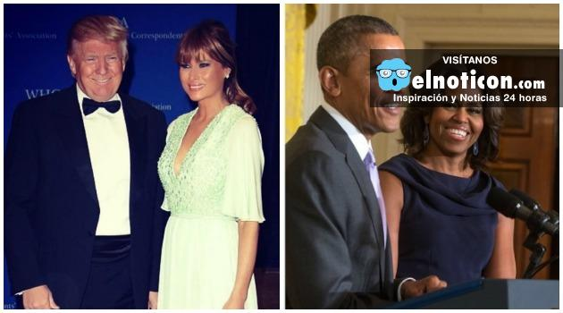 Acusan a Melania Trump por plagiar discurso de Michelle Obama