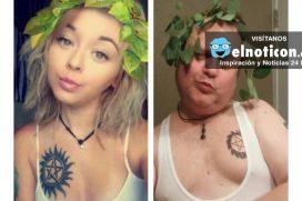 Papá trollea a su hija imitando sus selfies en Instagram ¡Morirás de la risa!